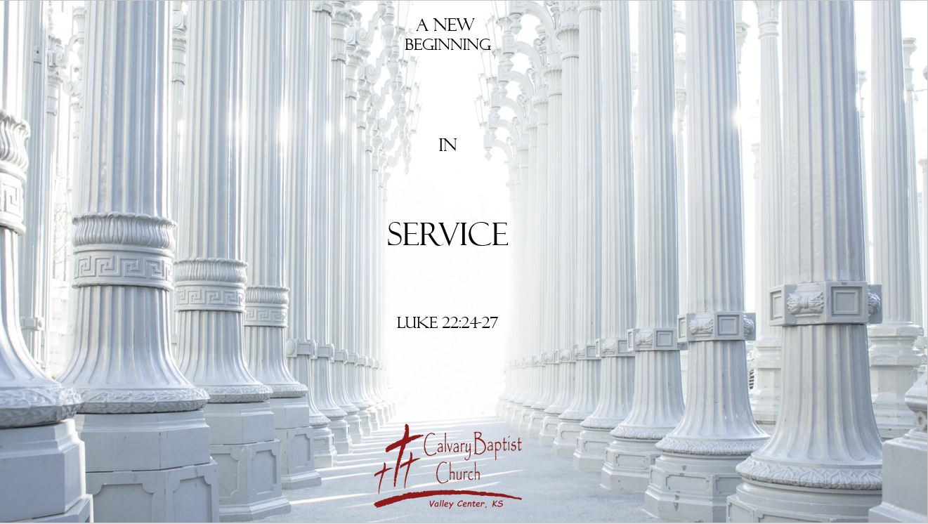 A New Beginning in Service