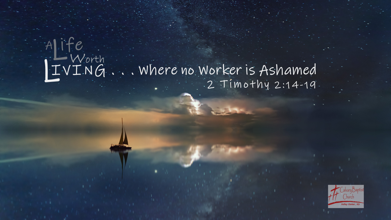 Where no Worker is Ashamed