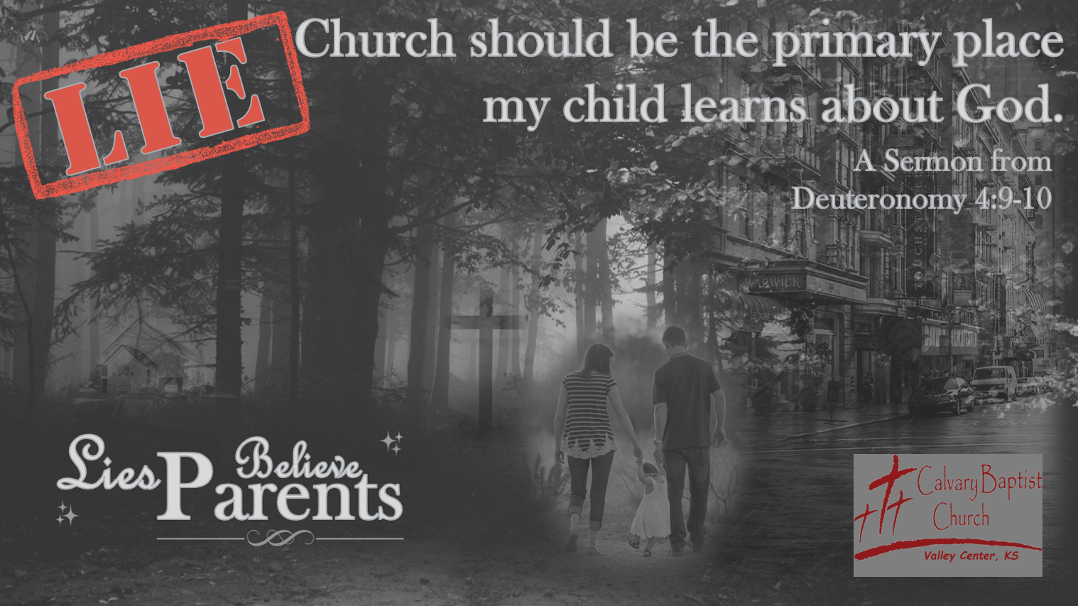 Church Should be the primary place my child learns about God