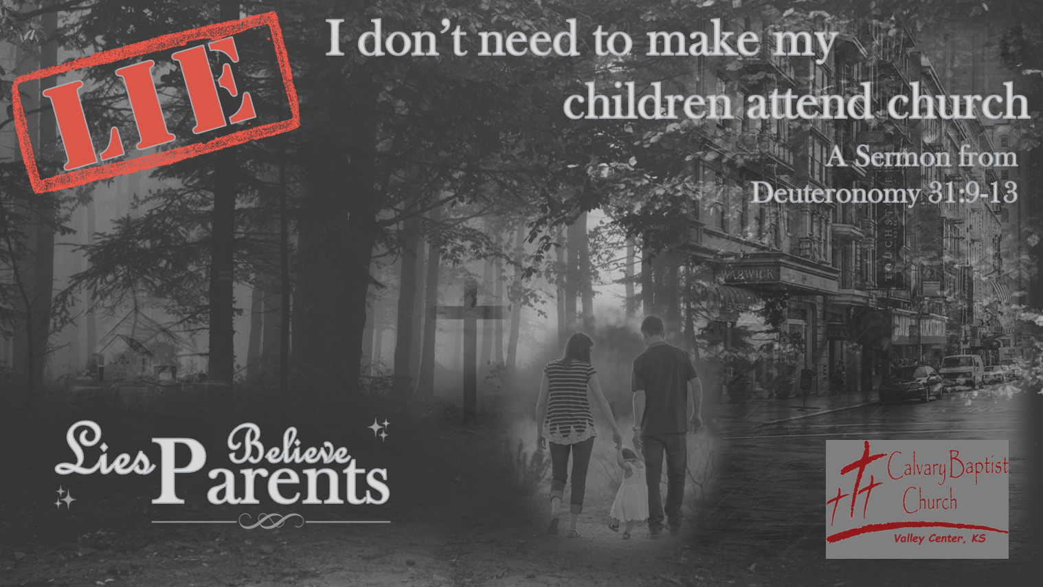 I don't need to make my children attend church